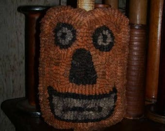 Pattern: Hooked Rug Jack O' Lantern Make Do by Hooked on Primitives