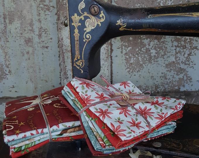 Fabric: Bundle FQ 6pc - Christmas