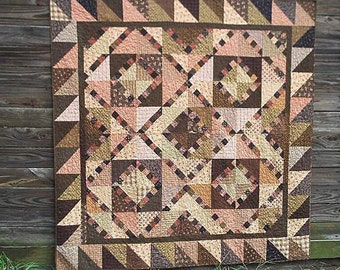 Pattern: Pinny n Pa Quilt Pattern by Primitive Pieces by Lynda