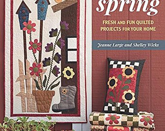 Pattern Book: Pre-Order - Here Comes Spring - New Book COMING SOON!  by Shelley Wicks and Jeanne Large