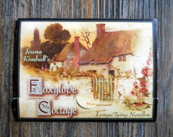 Notions: Longs/ Tying Needle Sampler Card/ Jeana Kimball Foxglove Cottage