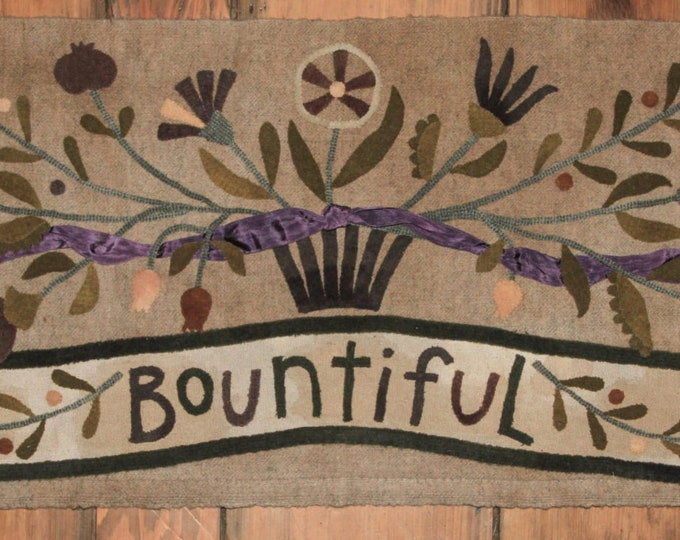 "Wool Kit and Pattern: ""Bountiful"" by  Maggie Bonanomi"