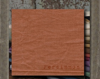 Fabric 1 YARD: Aged Muslin Cloth (New) - PERSIMMON 129 Marcus Fabrics