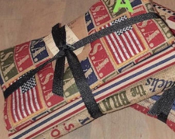 Fabric: Bundle HALF YD 2pc Sampler- Americana Collection