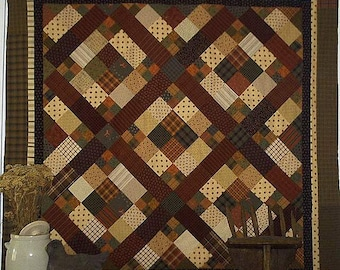 Pattern: The Old Nag Quilt Pattern by Primitive Pieces by Lynda