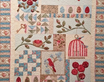 Pattern: Bird Haven Quilt by A Graceful Stitch