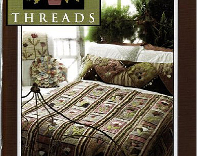 Pattern Book: Flower Beds Threads from Need'l Love