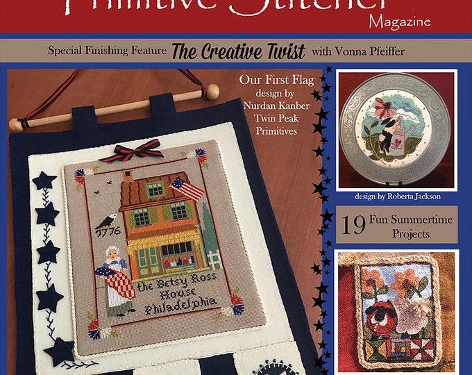 Magazine: Summer 2019 - Punch Needle & Primitive Stitcher