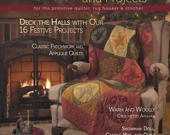 Magazine: Winter 2013  Primitive Quilts and Projects