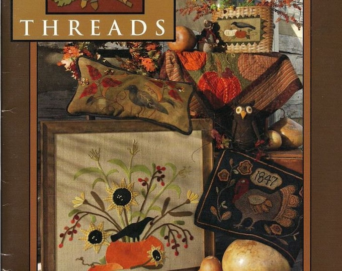 Pattern Book: Falloween Threads from Need'l Love