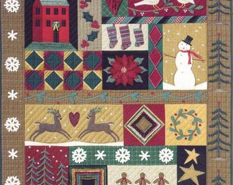 Pattern: BOM - Celebrate the Season Quilt Complete Set of 9 by City Stitcher