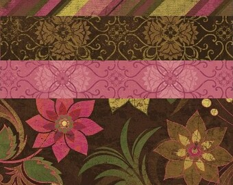 Fabric HALF YARD: Urban Valentines Day Fabric - Windham Fabrics - Urban Cosmo Collection