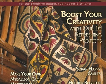 Magazine: Summer 2014 Primitive Quilts and Projects