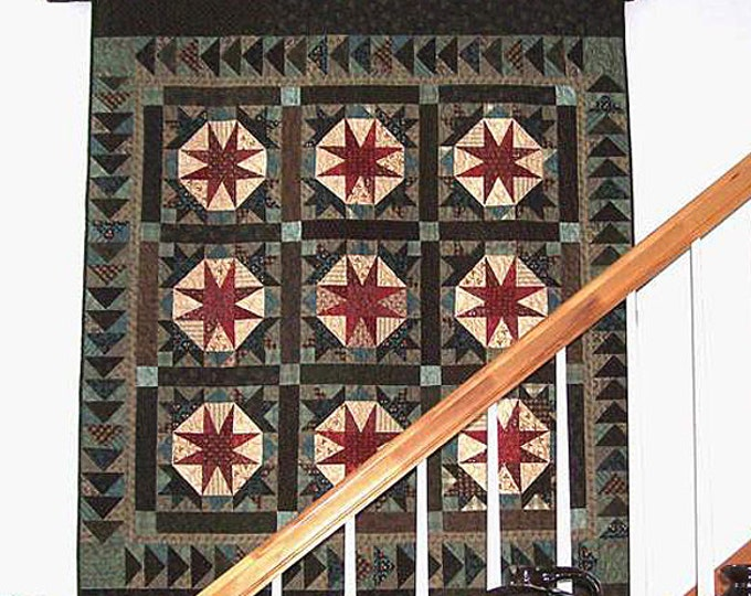 Pattern: Goose Down Quilt Pattern by Primitive Pieces by Lynda