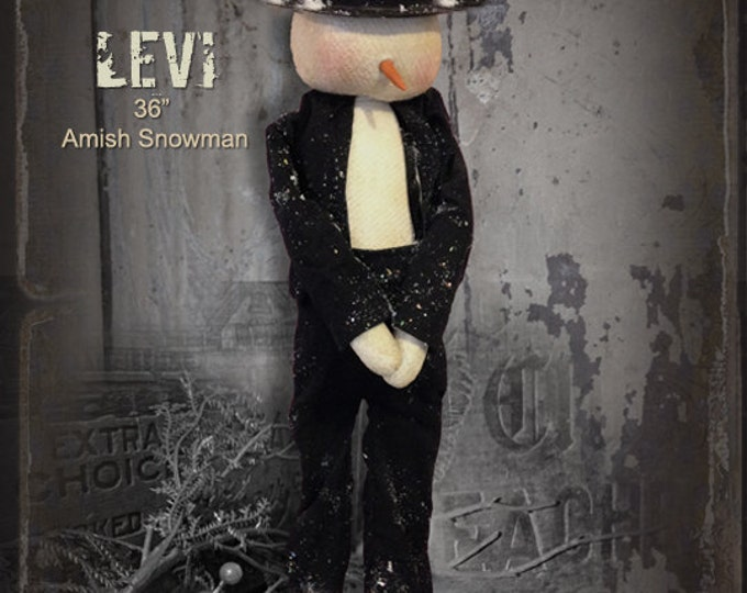 Pattern: Levi the Amish Snowman by Sparkles N Spirit