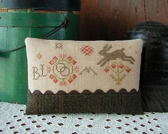 Pattern: Bloom Sampler Cross Stitch by Threadwork Primitives