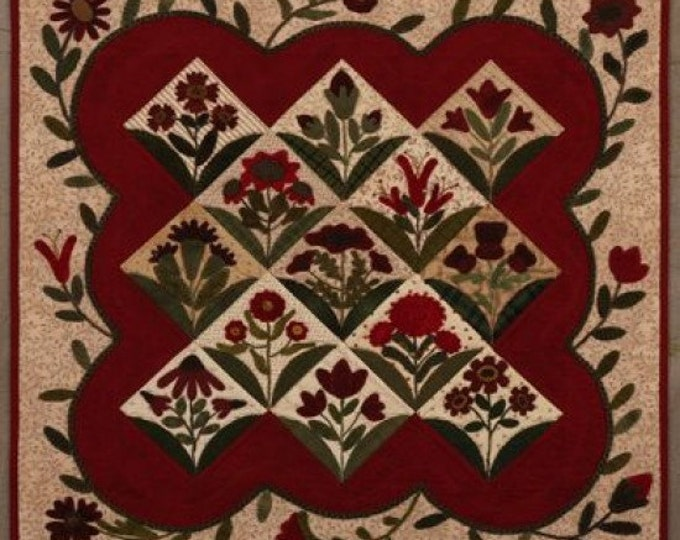 Pattern: Summer Blooms Quilt Primitive Gatherings