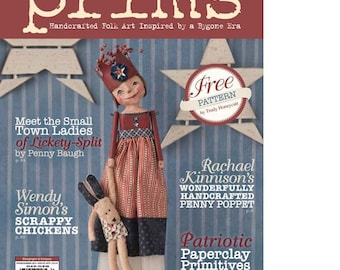 Magazine: Summer 2015 Prims - Art Inspired by a Bygone Era - - Stampington and Company