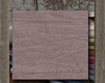 Fabric 1 YARD: Aged Muslin Cloth (New) - DUSTY PLUM 136 Marcus Fabrics