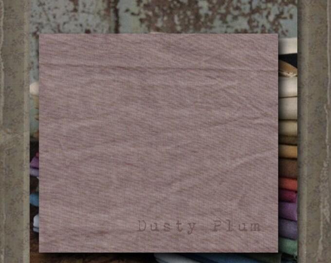 Fabric 1 YARD: Aged Muslin Cloth (New) - DUSTY PLUM 136 Marcus Fabrics