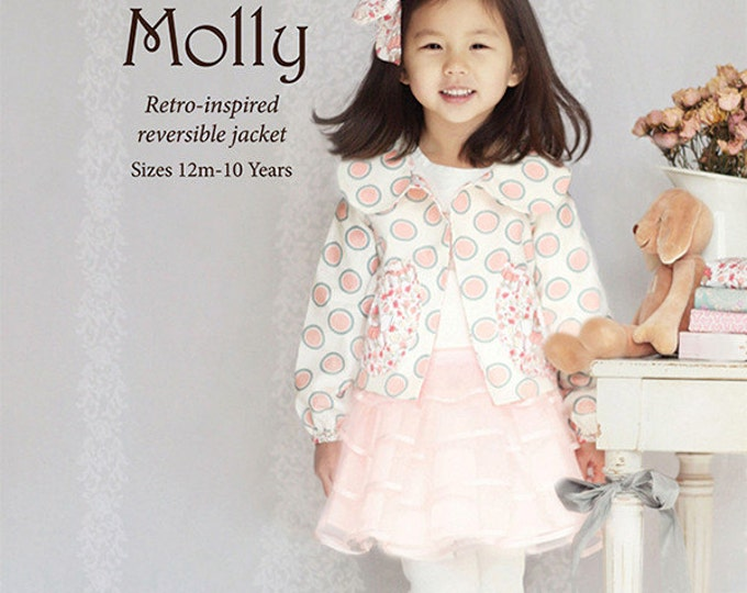 Pattern: Molly Retro- Inspired Reversible Jacket by Violette Field Threads