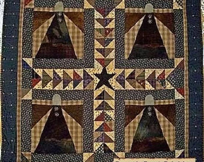 Pattern: Patchwork Angels Quilt Pattern by Primitive Pieces by Lynda