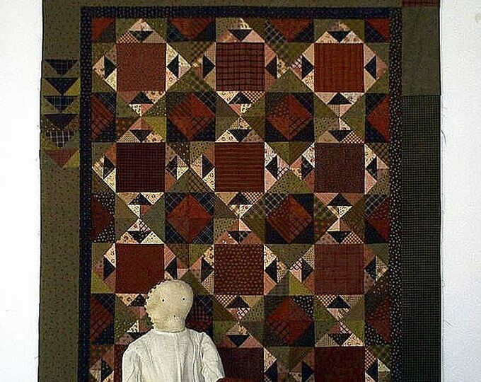 Pattern: The Hat Ladies Quilt Pattern by Primitive Pieces by Lynda