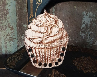 Notions: Cup Cake Thread Organizer by Retromantic Fripperies