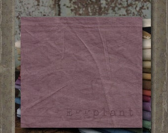 Fabric 1 YARD: Aged Muslin Cloth (New) - EGGPLANT 137 Marcus Fabrics