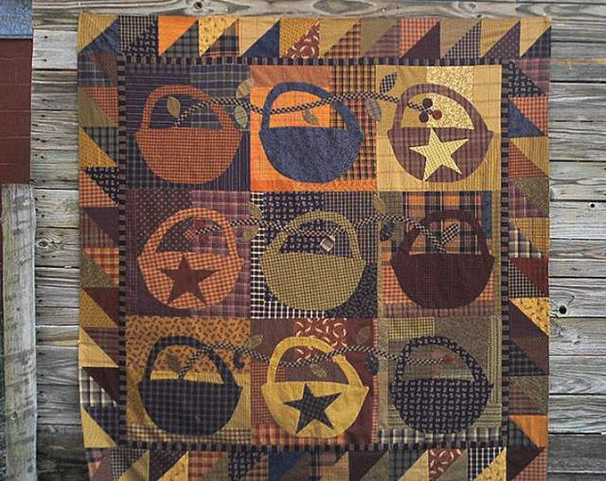Pattern: Slim Pickins Quilt Pattern by Primitive Pieces by Lynda