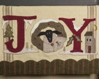 "Pattern: ""JOY Sheep Runner"" by Buttermilk Basin"