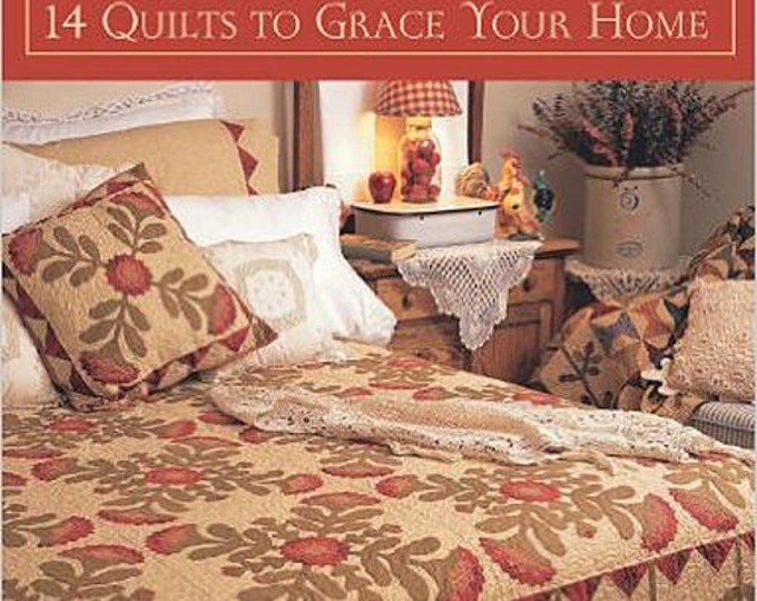 Pattern Book: Simple Blessings - 14 Quilts to Grace Your Home by Kim Diehl for The Patchwork Place