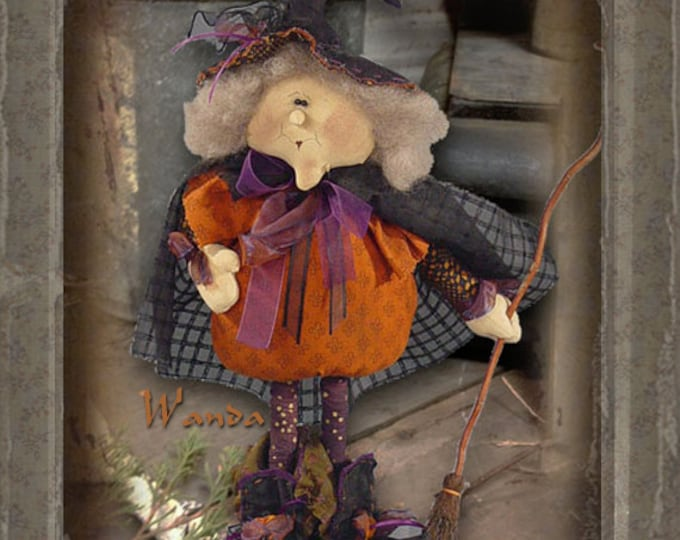 Pattern: Wanda the Witch by Sparkles N Spirit