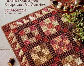 Pattern Book: Jo s Little Favorites - Timeless Quilts From Scraps and Fat Quarters by Jo Morton