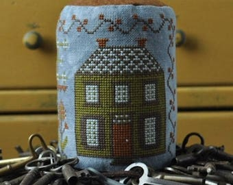 Handmade: Home Cross Stitch Drum by Summer House Stitche Workes