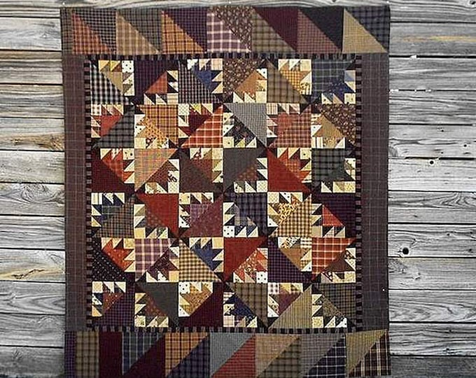 Pattern: Barnabus Barnsmell Quilt Pattern by Primitive Pieces by Lynda