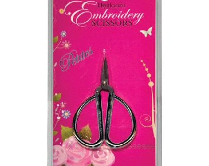 Notions: Embroidery Scissors - Sullivan's Heirloom Petites - Silver Copper Gold