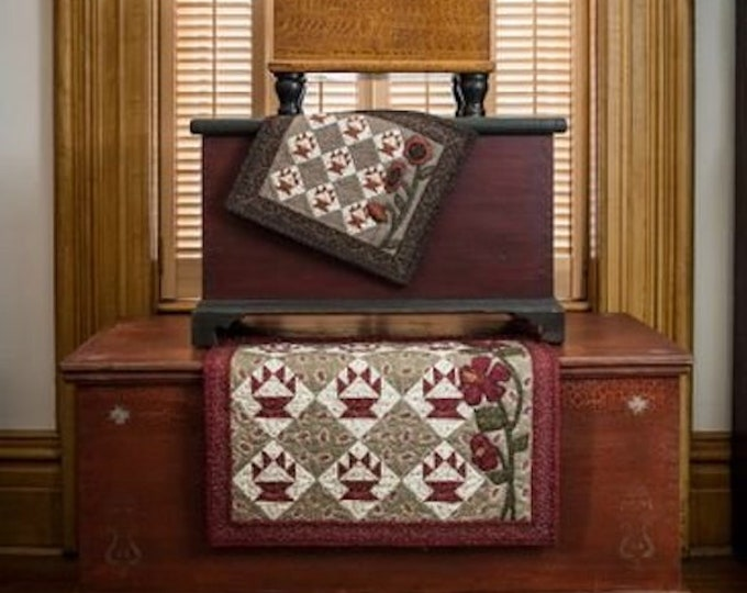 Pattern: Flower Baskets Quilt by Jill Shaulis for Kindred Spirits