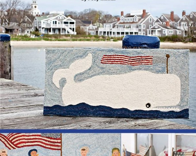 Pattern Book: American Summer - Seaside Inspired Rugs and Quilts by Polly Minick