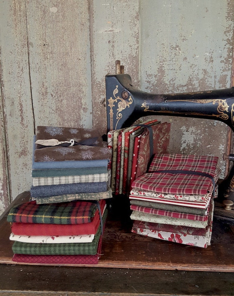 Winter and Christmas Collections Fabric Bundle FQ