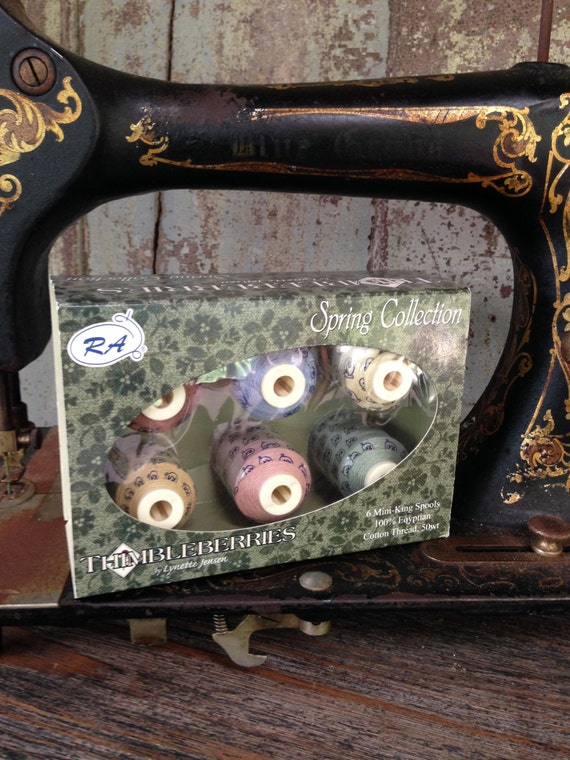 Threads: Spring Spool Thread Collection - Thimbleberries by Lynn Jensen