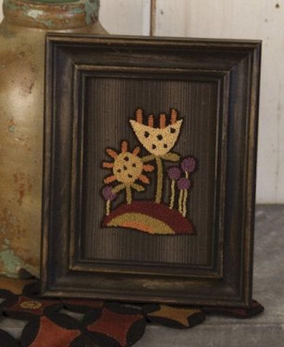 Pattern: Punch Needle - Emma's Garden  - Threads That Bind