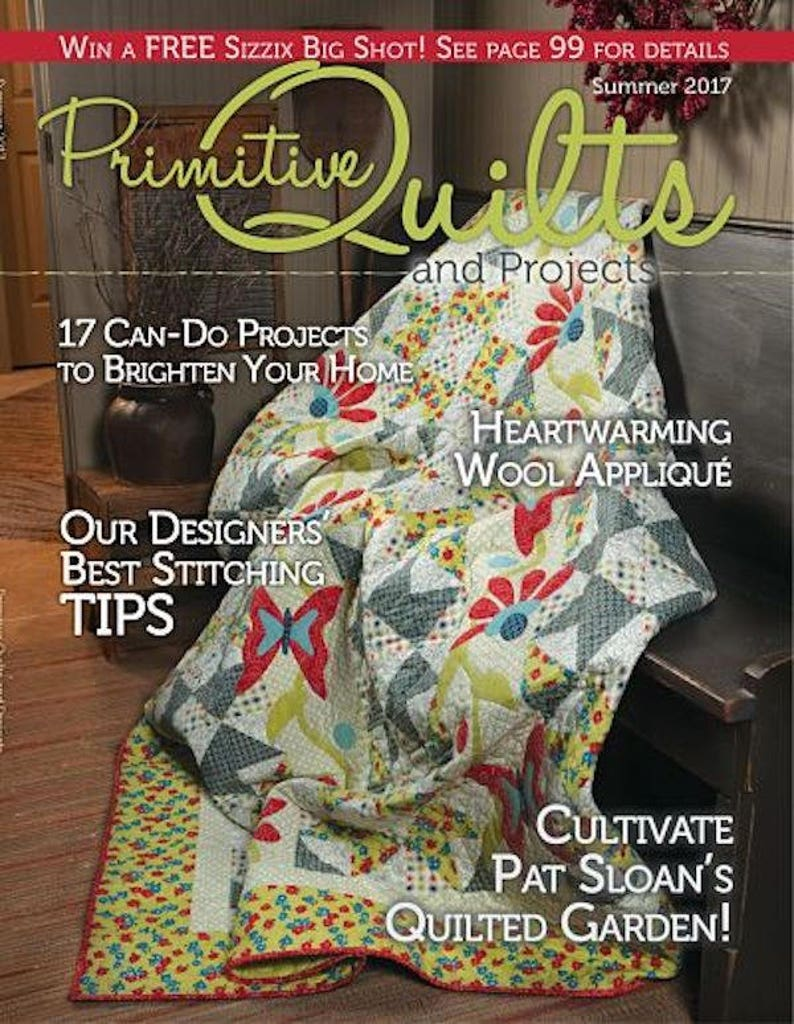 Magazine:2017 Summer Primitive Quilts and Projects image 0