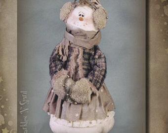 Pattern: Snowbelle by Sparkles N Spirit