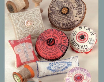 Pattern: Vintage Pincushions by  Indygo Junction