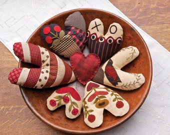 """Pattern: """"Gathering Hearts"""" Pattern - Timeless Traditions by Norma Whaley"""