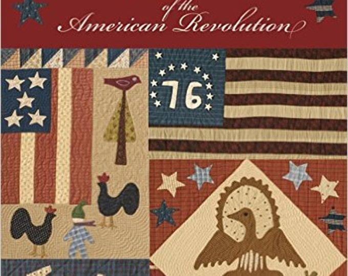 Featured listing image: Pattern Book: Flags of the American Revolution by Jan Patek