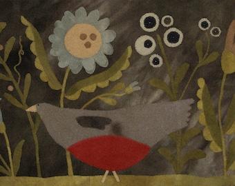 Wool Kit and Pattern: Summer in My Garden Maggie Bonanomi
