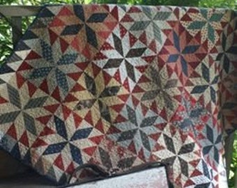 Pattern: Wartime Quilt Pattern by Country Threads