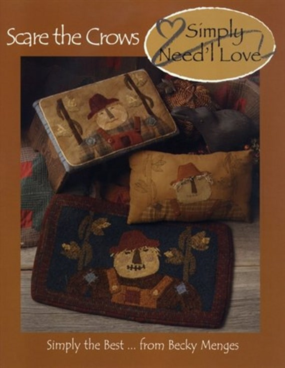 Pattern Booklet: Scare the Crows by Need'l Love